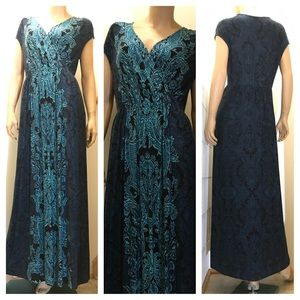 Soma soft, stretchy, comfy maxi dress. Size Large